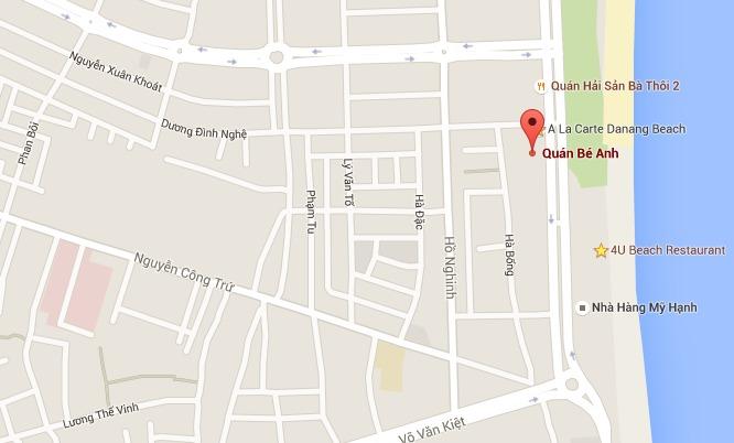Quán-Bé-Anh-Google-map