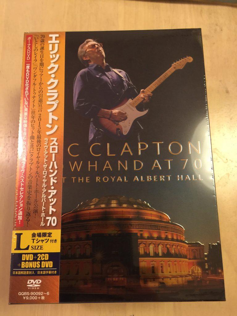 スローハンド・アット・70 - エリック・クラプトン・ライヴ・アット・ザ・ロイヤル・アルバート・ホール02