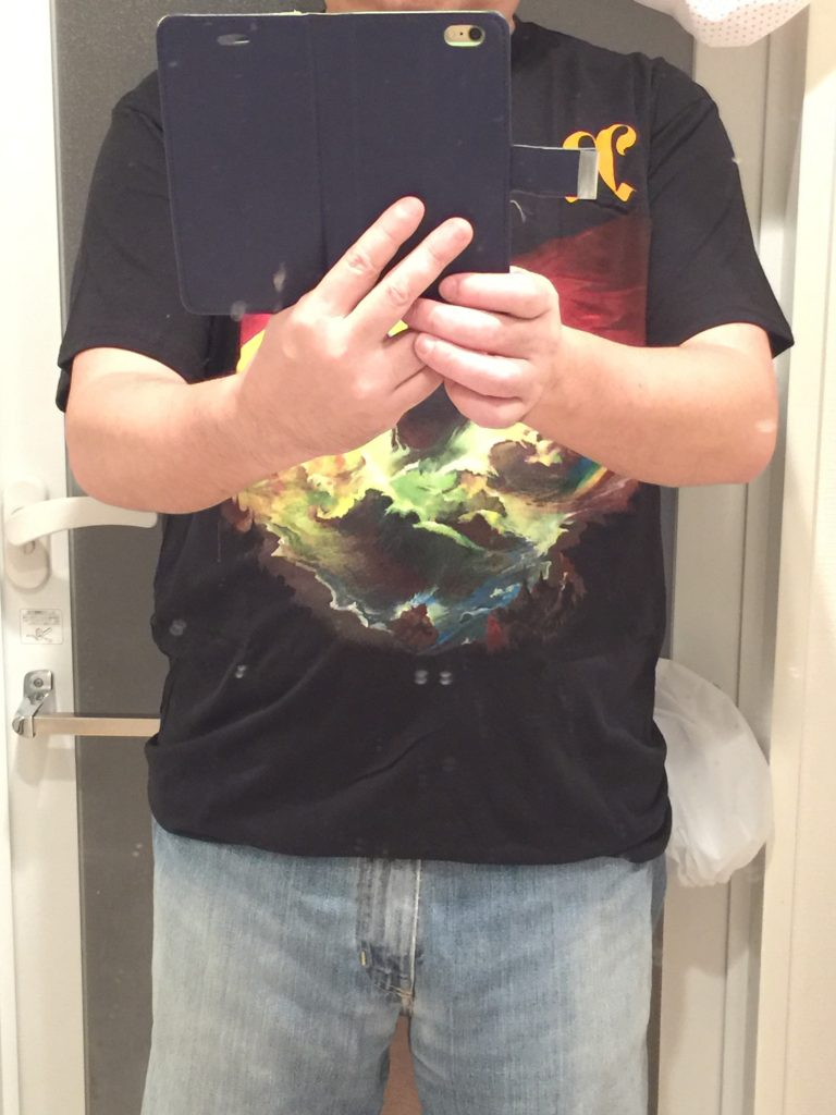 レインボーライジングTシャツ