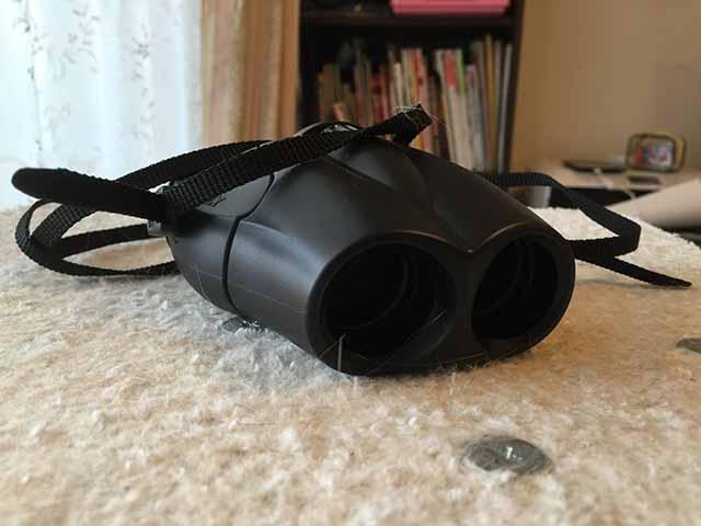8倍双眼鏡「Uシリーズ」UP 8×25(ブラック)01