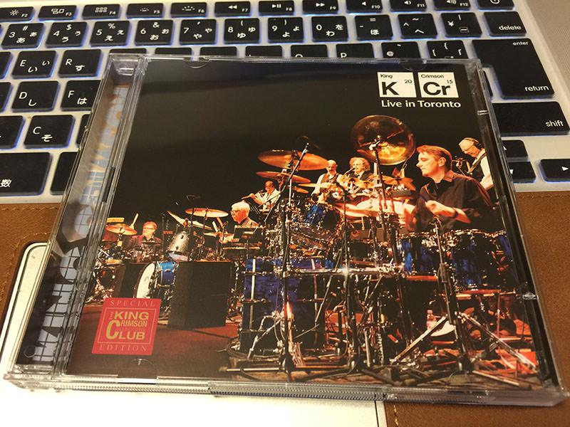 キング・クリムゾン「ライブ・イン・トロント」01