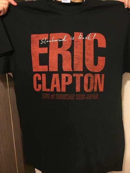 エリック・クラプトン来日デイリーTシャツ01