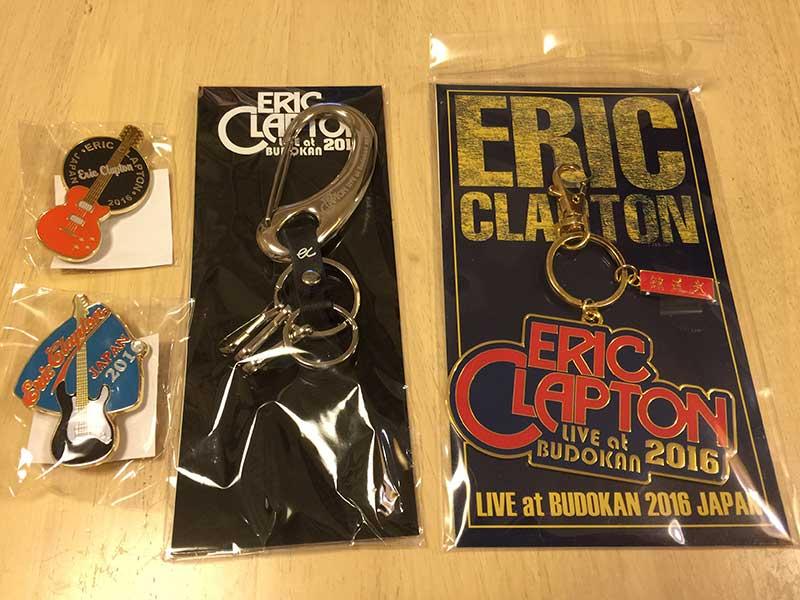 エリック・クラプトン来日記念グッズ2016-04-15