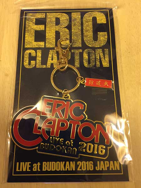 エリック・クラプトン2016来日記念本メタルキーチェーン