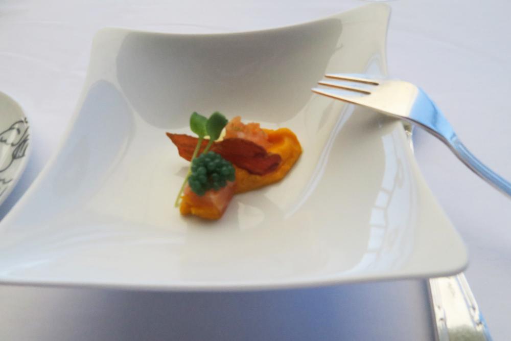 シャトーエザ レストラン ランチ フレンチ 前菜