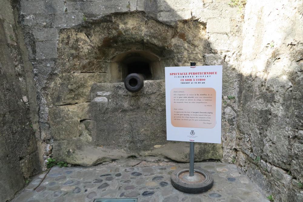 サン・ポール・ド・ヴァンス大砲