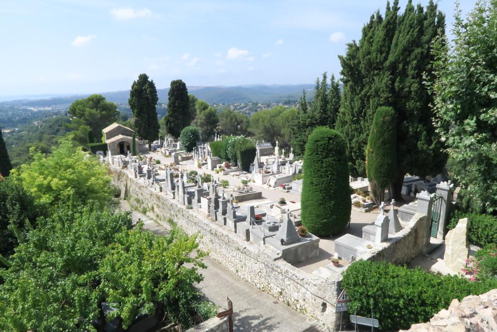 サン・ポール・ド・ヴァンス墓地