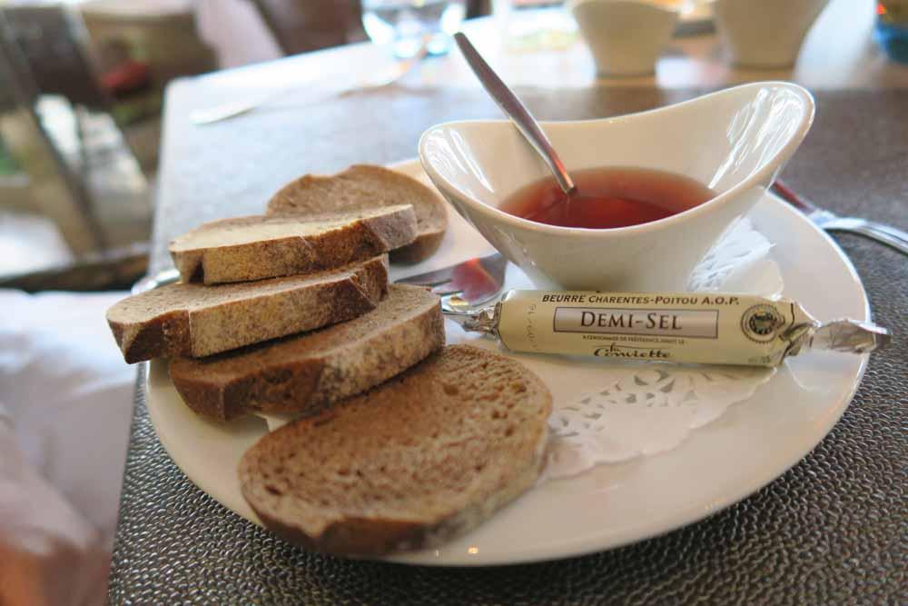 Le Koudou生牡蠣用パン
