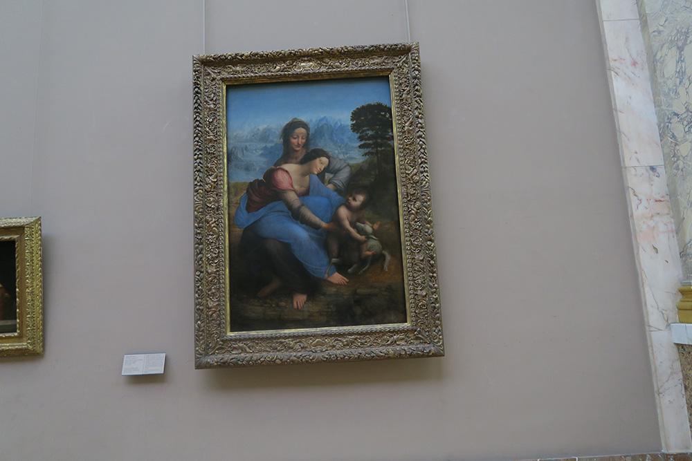 聖母子と聖アンナ