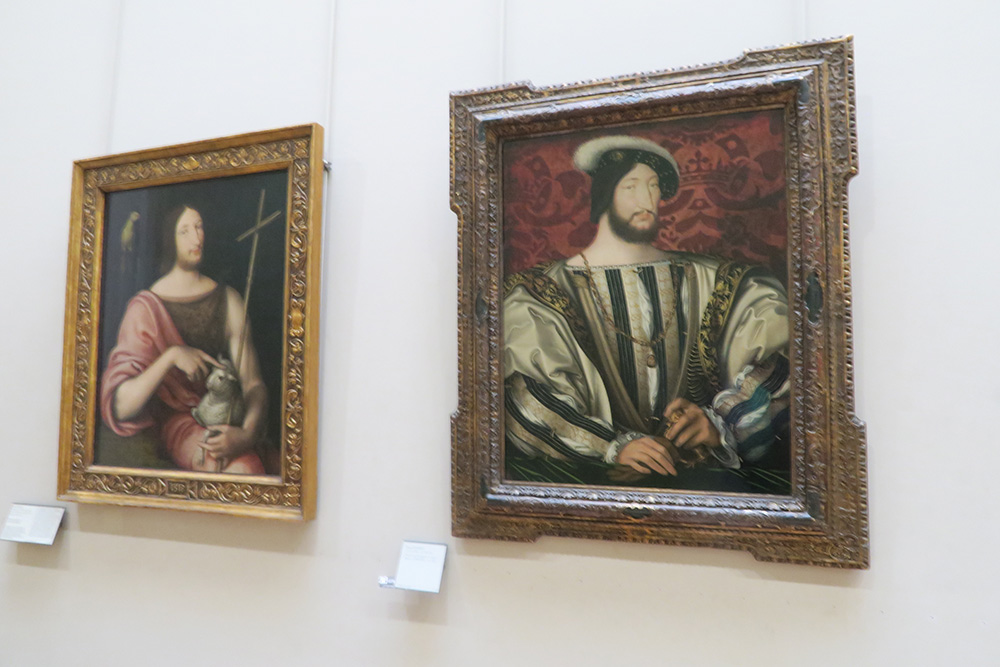 フランソワ1世の肖像画
