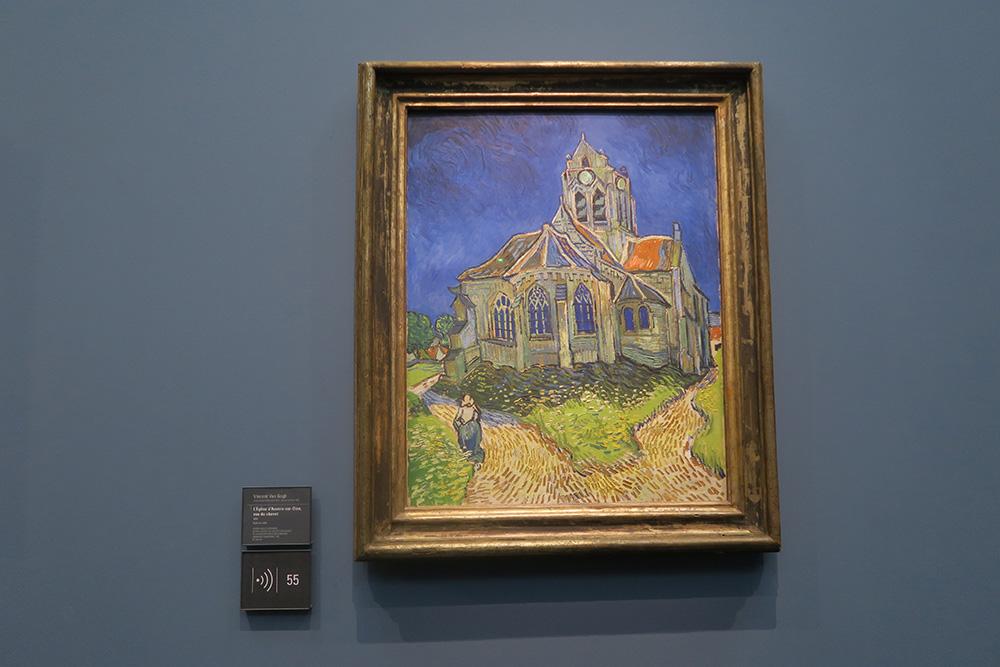 ゴッホ「オヴェールの教会」