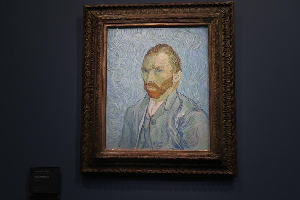 ゴッホ「画家の肖像(自画像)」