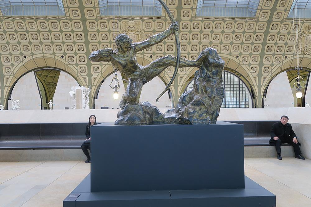 ブールデル「弓を引くヘラクレス」