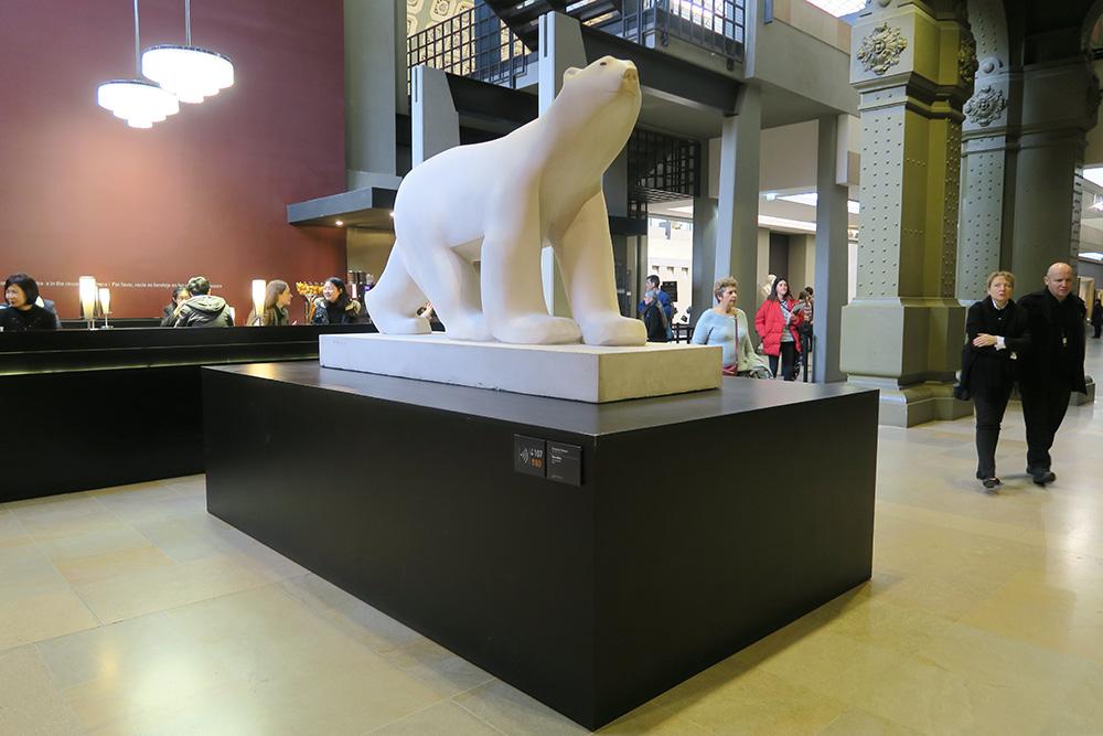 ポンポン「白熊」01
