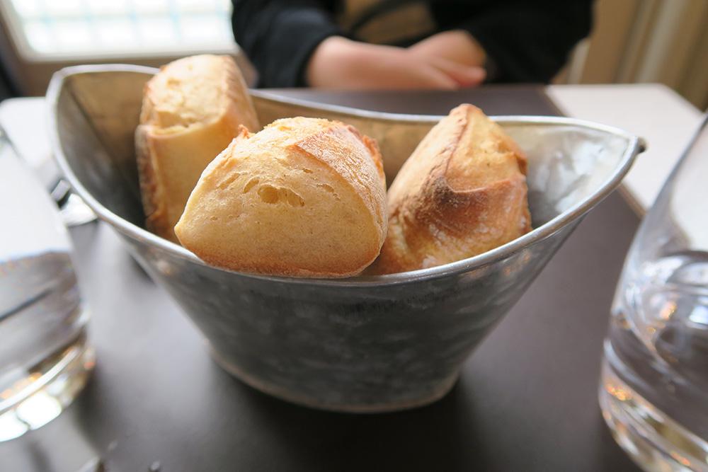 Restaurent Musée d'Orsayのパン