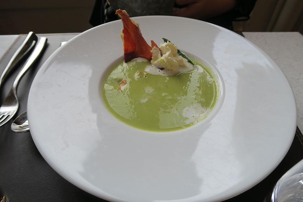 Restaurent Musée d'Orsay スープ