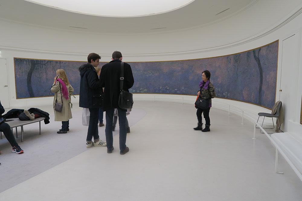 モネの睡蓮03 オランジュリー美術館