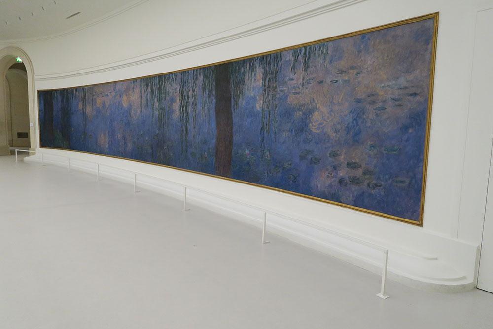 モネの睡蓮04 オランジュリー美術館