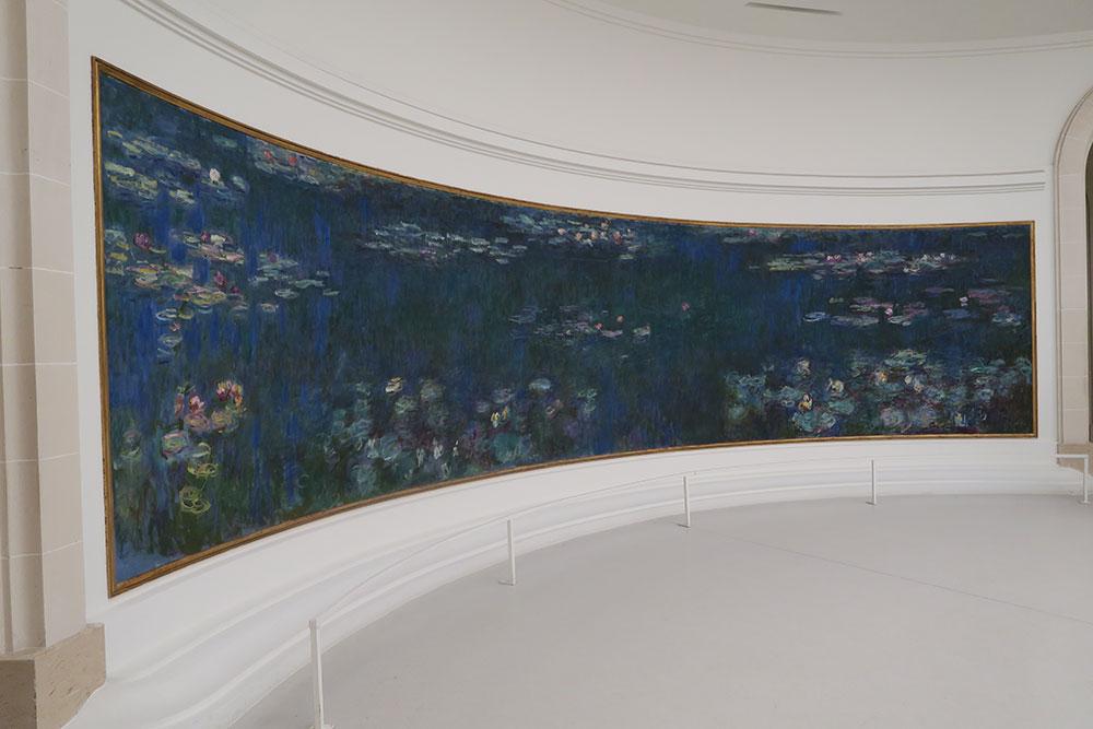 07_モネの睡蓮オランジュリー美術館