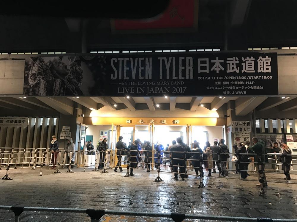 スティーブン・タイラー 日本武道館 2017_04