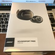 Bose SoundSport Free wireless headphones パッケージ