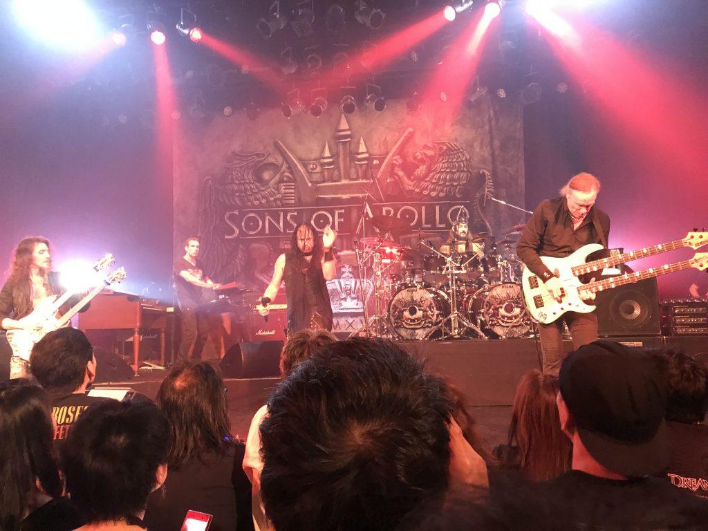 Sons Of Apolloの来日公演@大阪 BIGCAT