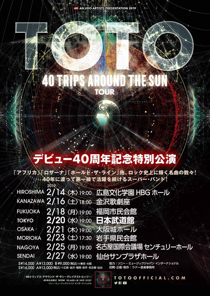 40 TRIPS AROUND THE SUN
