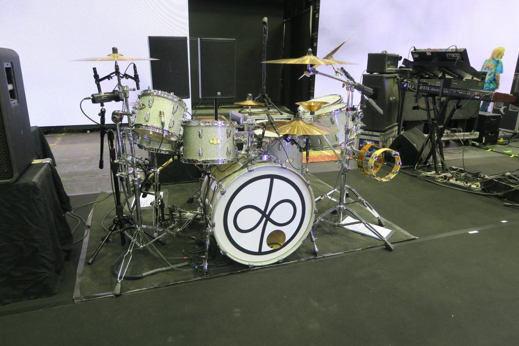 イアン・ペイスのドラム