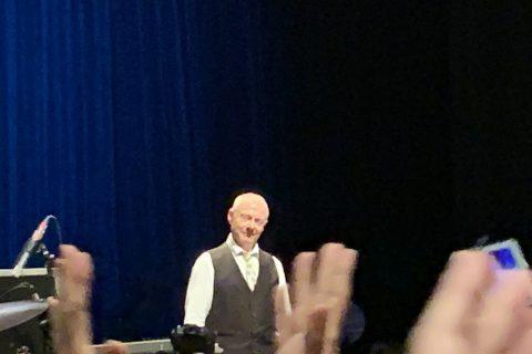 キング・クリムゾンUncertain Times Tour 2018東京公演2日目 ロバート・フリップ