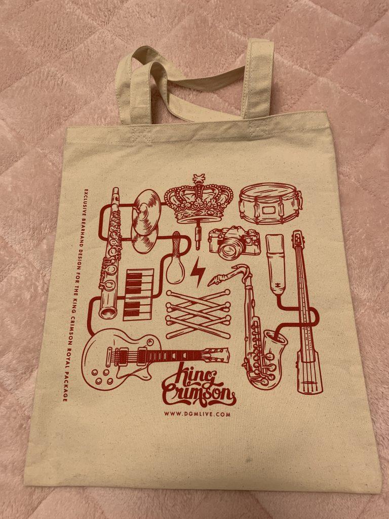 キング・クリムゾン ロイヤル・パッケージ Exclusive Crimson Package Tote Bag