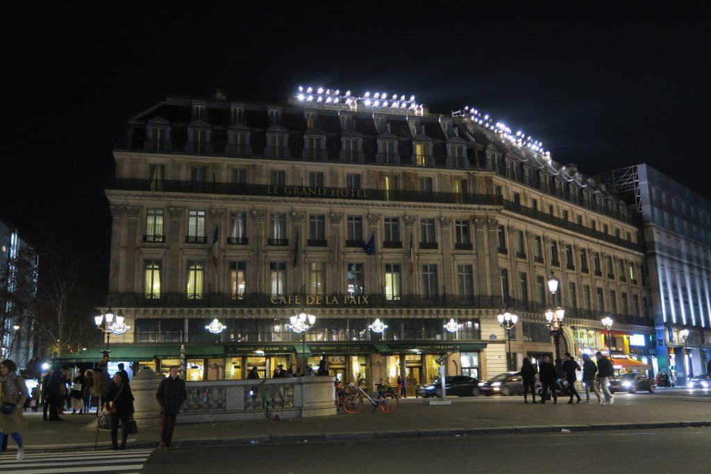 インターコンチネンタルホテル パリ ルグラン