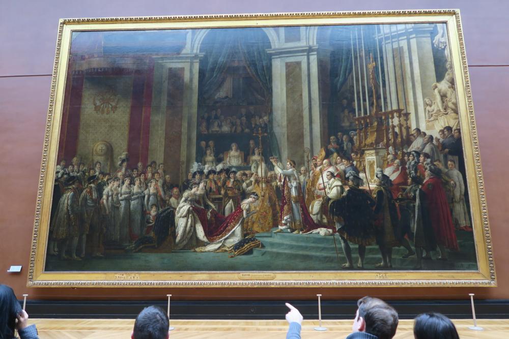 ナポレオン一世の戴冠式と皇妃ジョゼフィーヌの戴冠