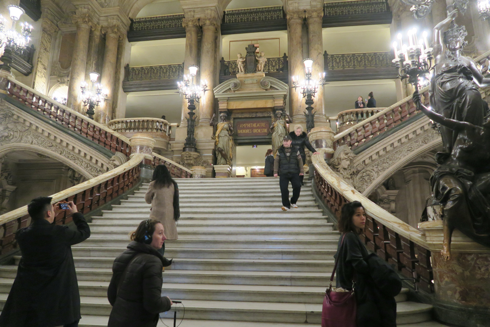 オペラ座 大階段