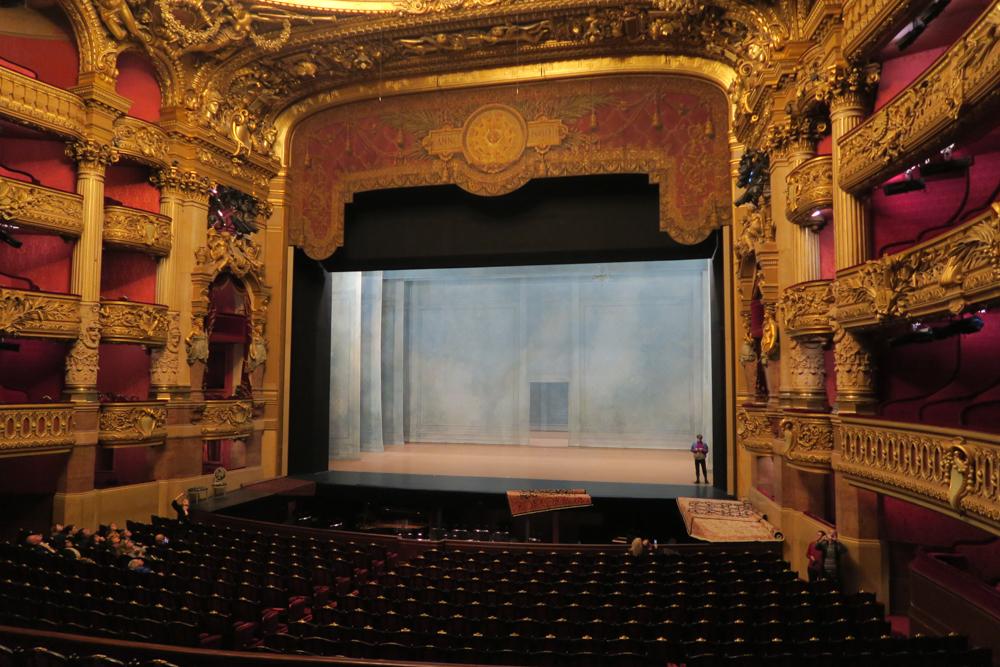 オペラ座 客席