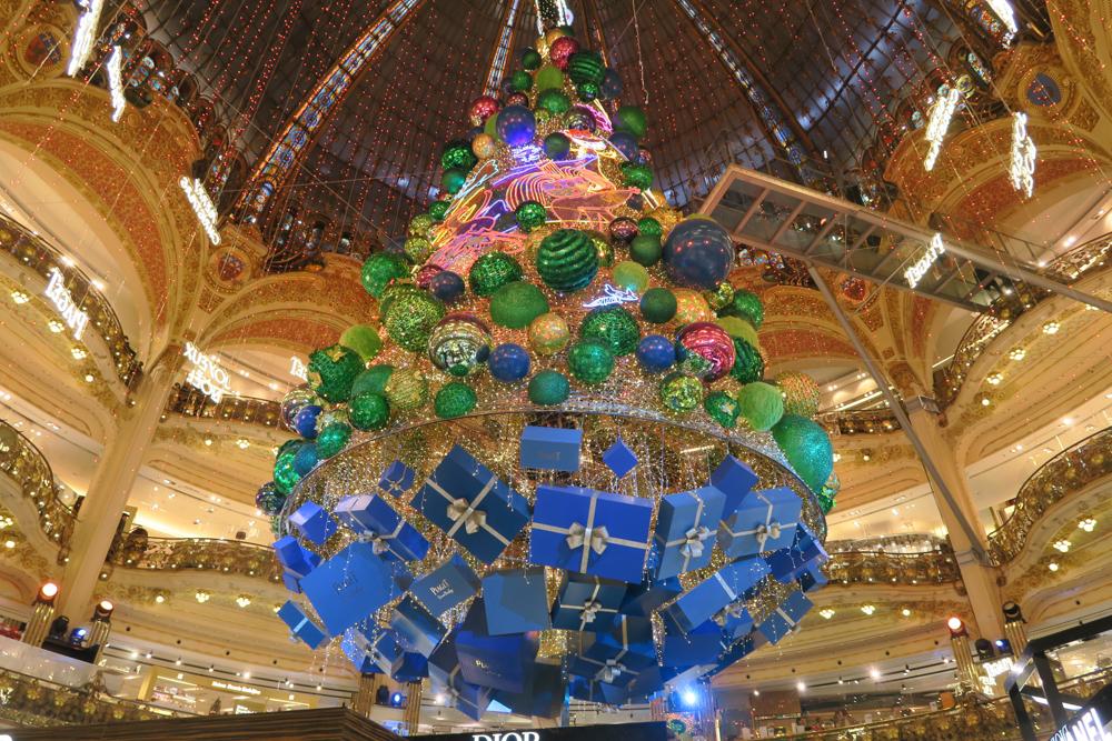 ギャラリー・ラファイエット クリスマスツリー