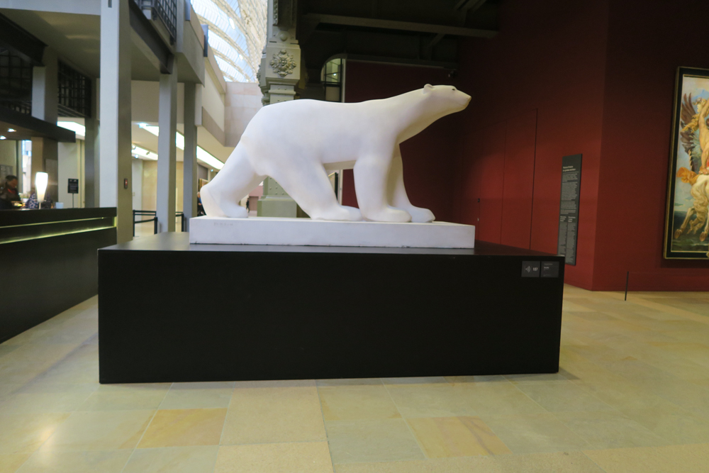 フランソワ・ポンポン 白熊