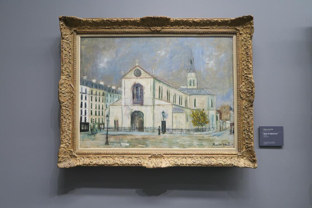 ユトリロ Eglise de Clignancourt