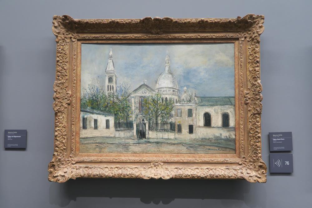 ユトリロ Eglise Saint-Pierre de Montmartre