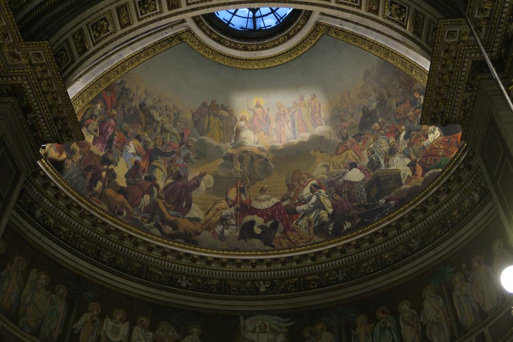 マドレーヌ寺院 天井画