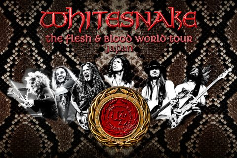 WHITESNAKE The Flesh & Blood World Tour
