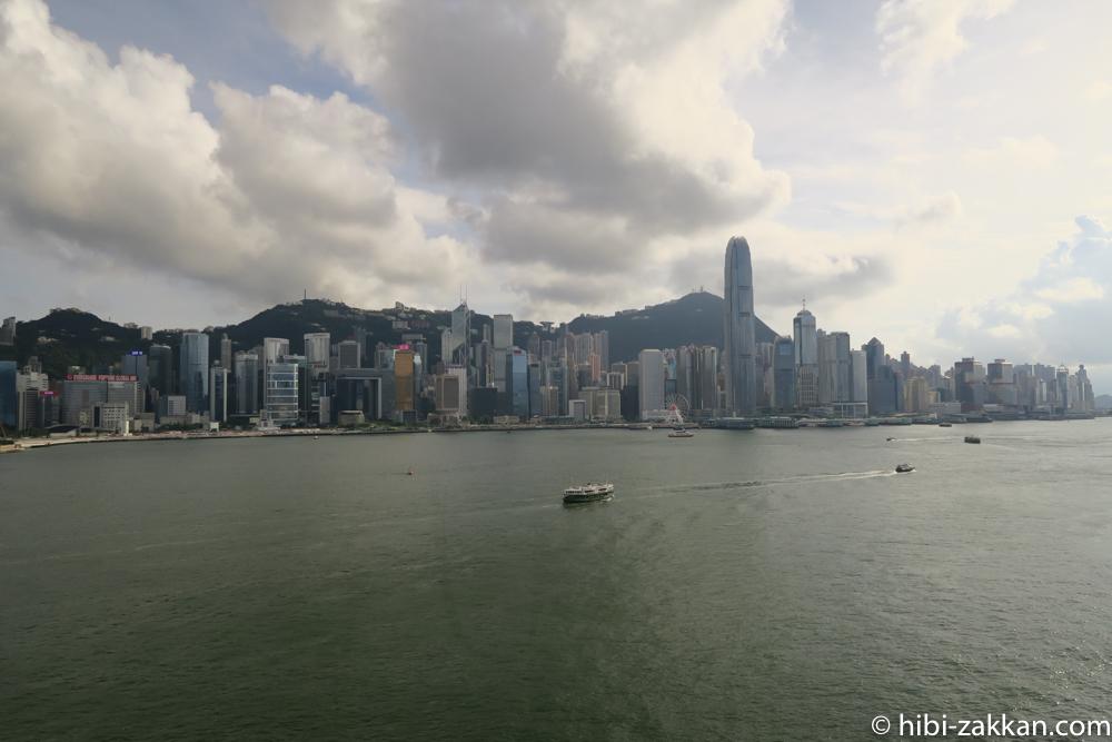 2019年6月香港旅行 インターコンチネンタル香港 ビクトリアハーバー01
