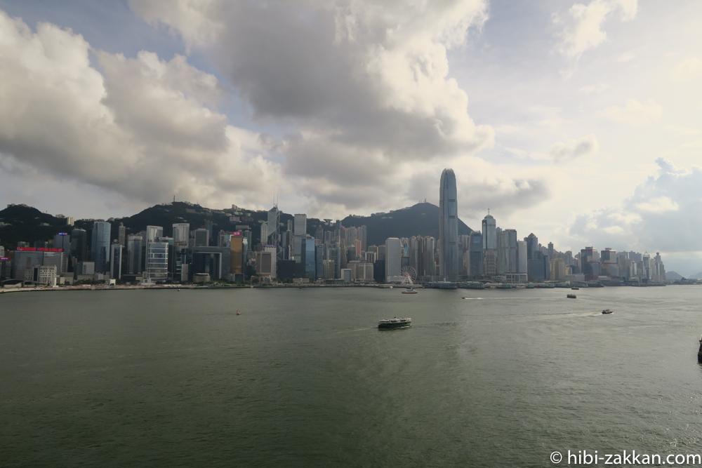 2019年6月香港旅行 インターコンチネンタル香港 ビクトリアハーバー02
