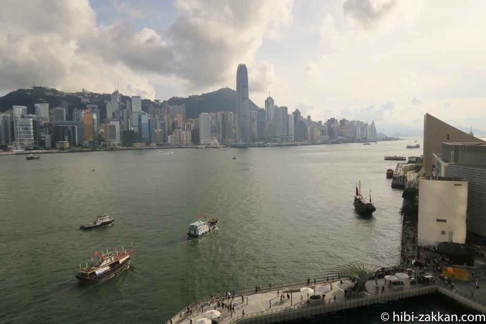 2019年6月香港旅行 インターコンチネンタル香港 ビクトリアハーバー03