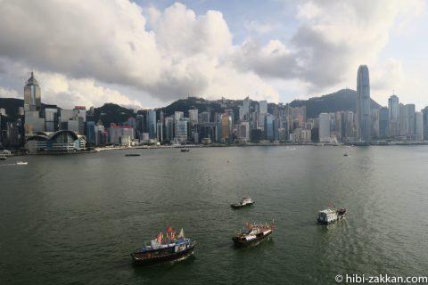 2019年6月香港旅行ビクトリアハーバー