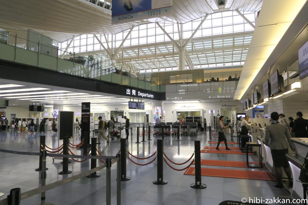 2019年6月香港旅行 羽田空港
