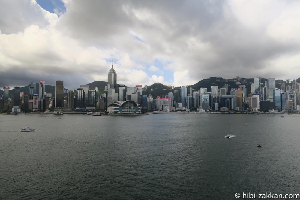 2019年6月香港旅行 ビクトリアハーバー03