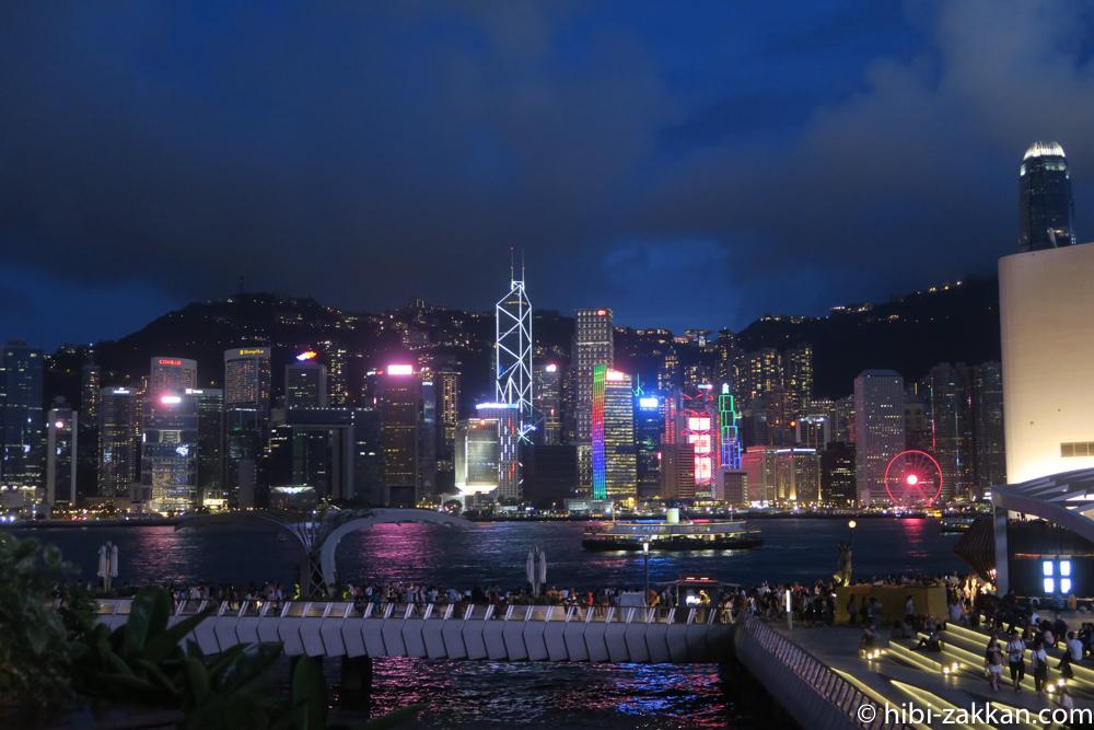 2019年6月香港旅行 シンフォニー・オブ・ライツ01