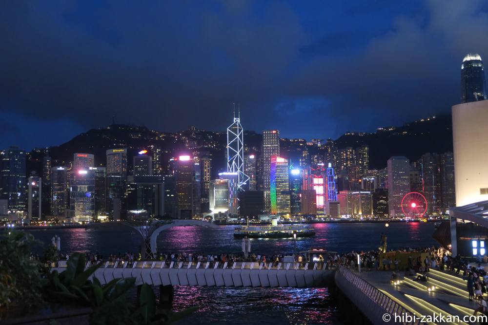 2019年6月香港旅行 シンフォニー・オブ・ライツ02