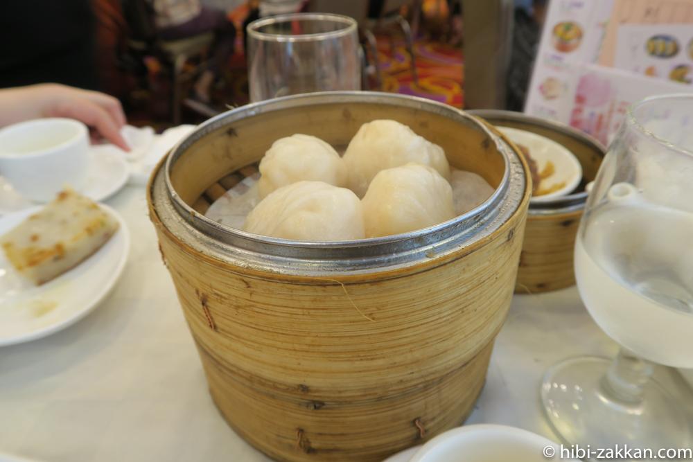 2019年6月香港旅行 倫敦大酒楼 飲茶 エビ餃子