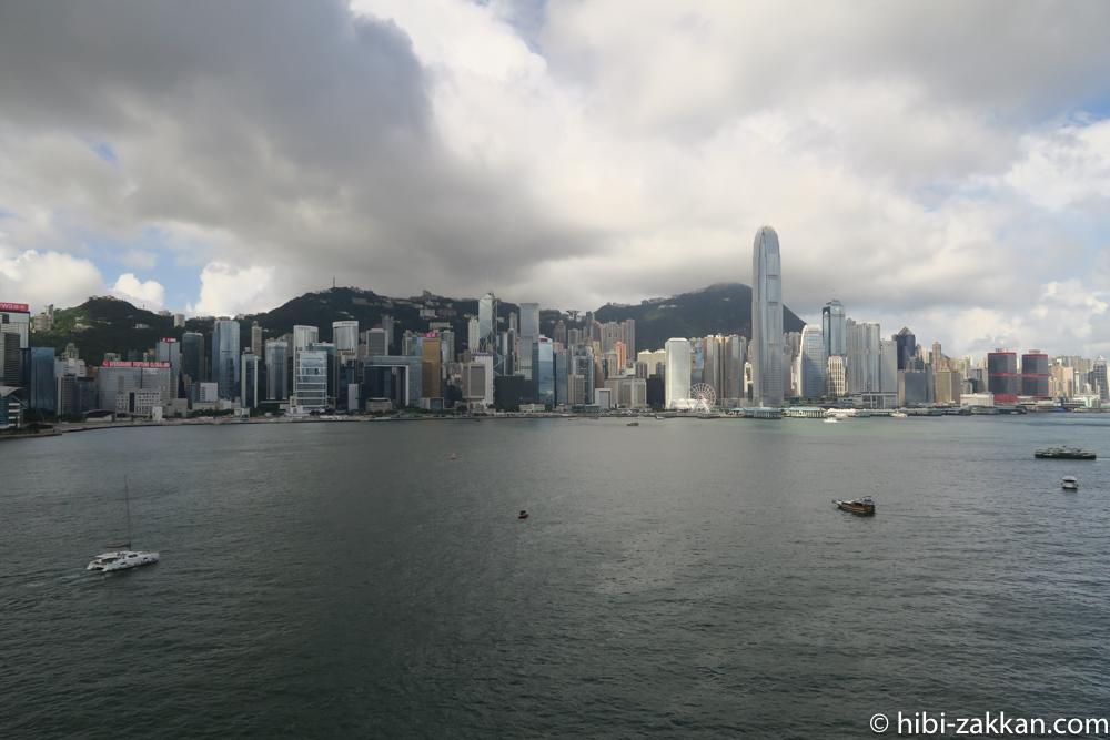 2019年6月香港旅行 ビクトリアハーバー01